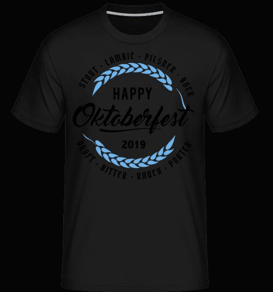 Happy Oktoberfest -  Shirtinator Men's T-Shirt - Black - Vorn