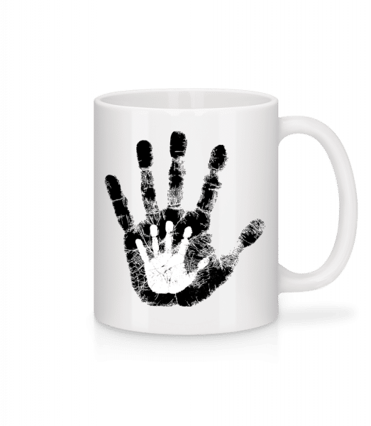 Hand Parents Kid - Mug - White - Front