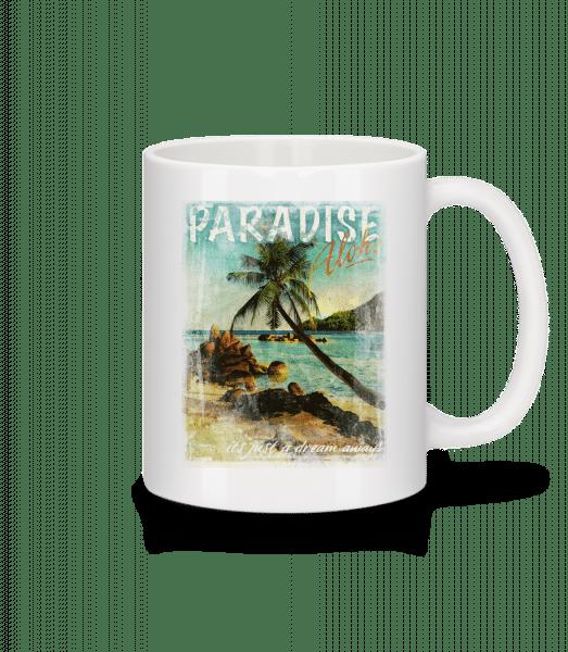 Paradise Aloha - Mug - White - Vorn
