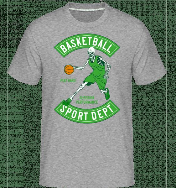 Basketball Sport Dept -  Shirtinator Men's T-Shirt - Heather grey - Vorn