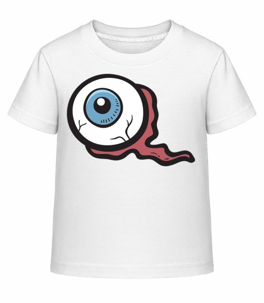 Nasty Eye - Kid's Shirtinator T-Shirt - White - Vorn