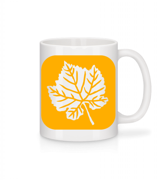 Autumn Leaf - Mug - White - Vorn