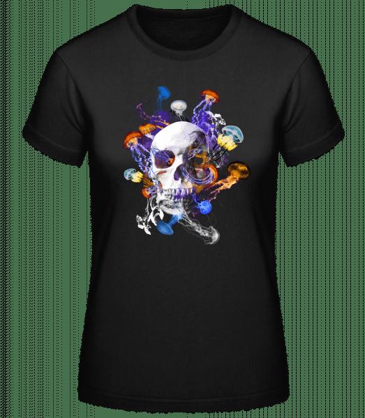 Crâne Et Méduses - Basic T-Shirt - Black - Vorn