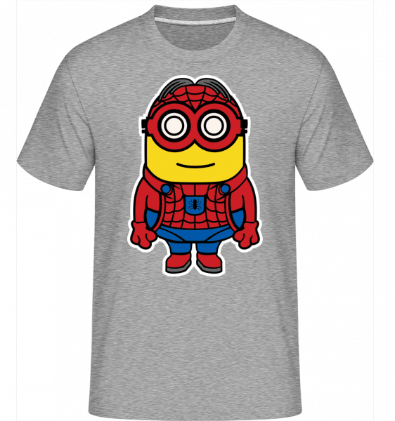Minion Spiderman -  Shirtinator Men's T-Shirt - Heather grey - Vorn