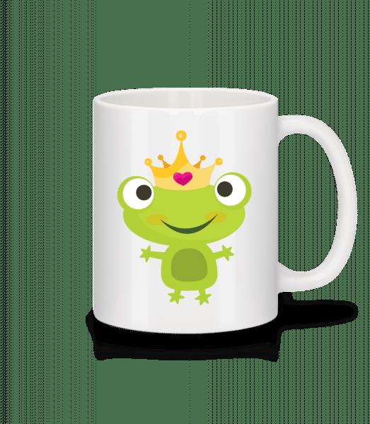 Princess Frog - Keramický hrnek - Bílá - Napřed