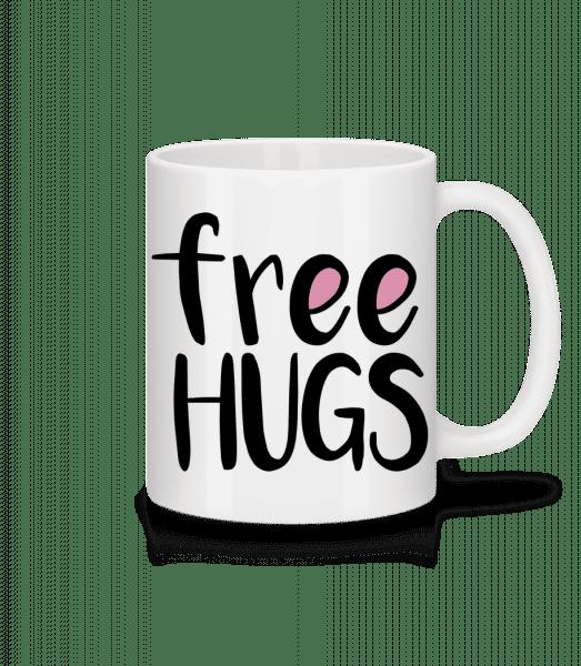 Free Hugs - Mug - White - Front
