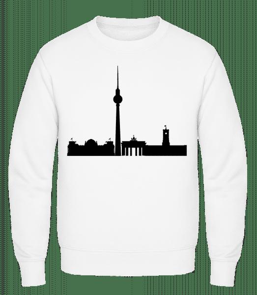 Berlin Germany - Classic Set-In Sweatshirt - White - Vorn
