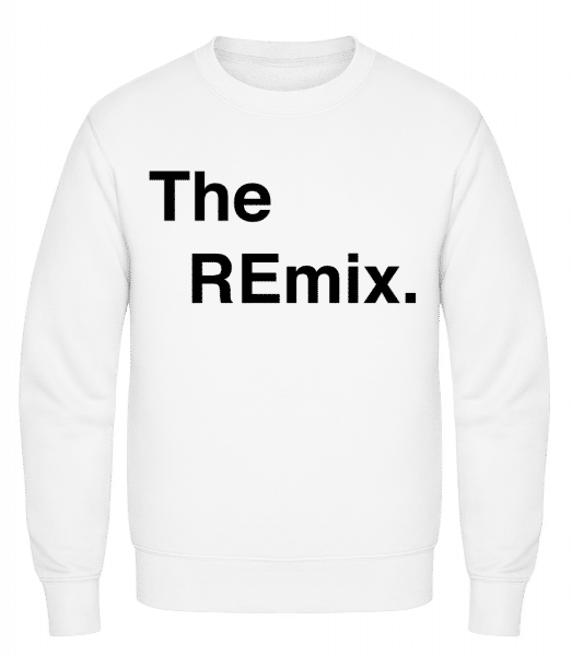 The REmix - Classic Set-In Sweatshirt - White - Vorn