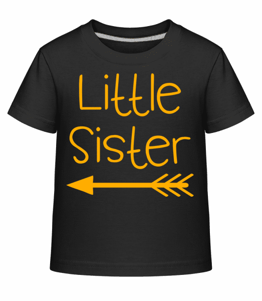 Little Sister - Kid's Shirtinator T-Shirt - Black - Vorn