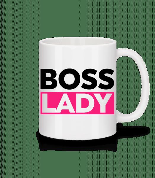 Boss Lady - Mug - White - Vorn