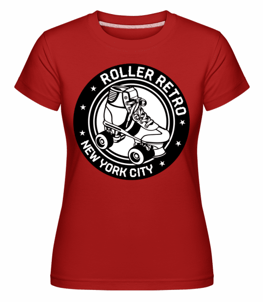 Roller Blade Logo -  Shirtinator Women's T-Shirt - Red - Vorn