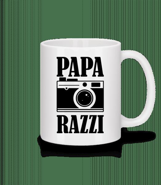 Papa Razzi - Tasse - Weiß - Vorn