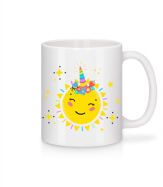 Happy Sun - Mug - White - Vorn