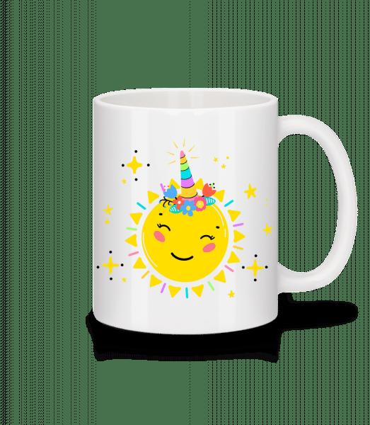 Happy Sun - Mug - White - Vorn