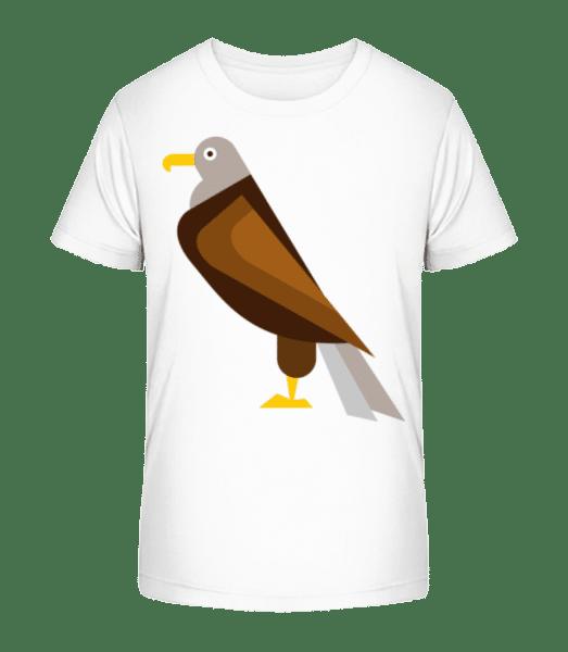 Eagle Comic - Kid's Premium Bio T-Shirt - White - Front