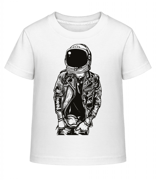 Astronaut Punkster - Kid's Shirtinator T-Shirt - White - Vorn
