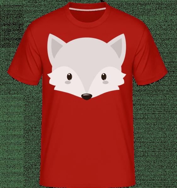 Renard Comic -  T-Shirt Shirtinator homme - Rouge - Vorn