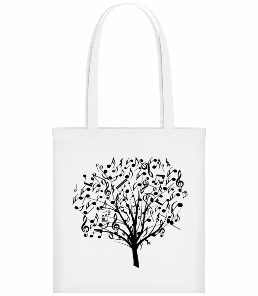 Music Tree - Carrier Bag - White - Vorn