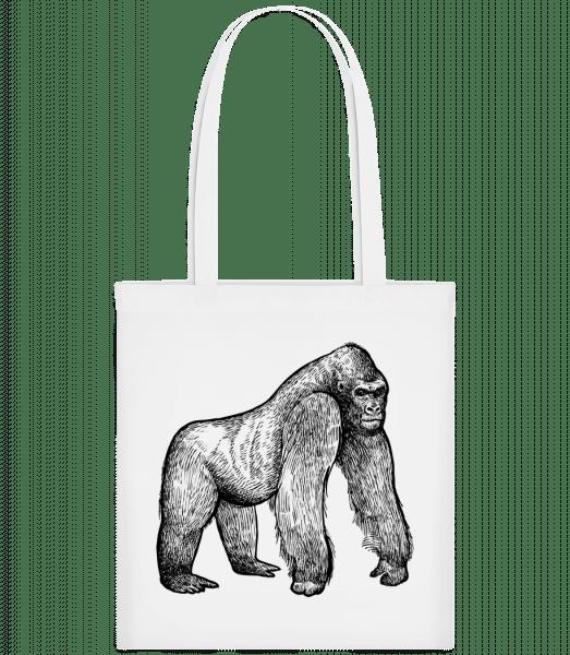 Gimpanse - Carrier Bag - White - Vorn