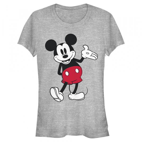 World Famous Mouse Mickey Mouse - Disney Mickey - Women's T-Shirt - Heather grey - Front