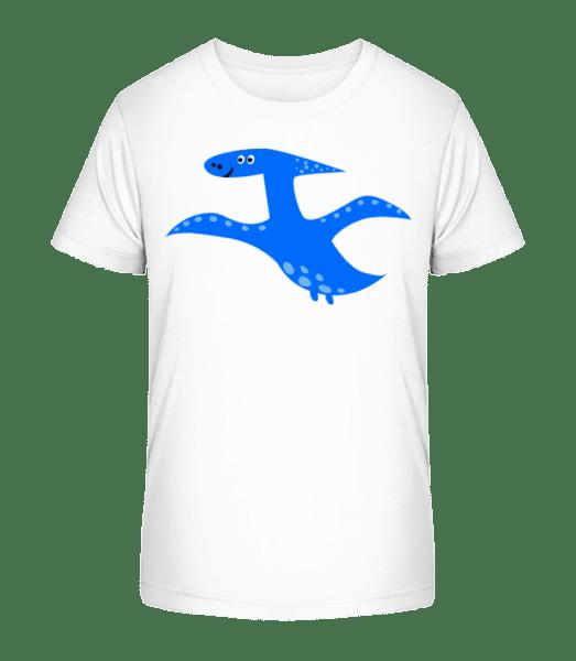 Pterosaur - Kid's Premium Bio T-Shirt - White - Vorn