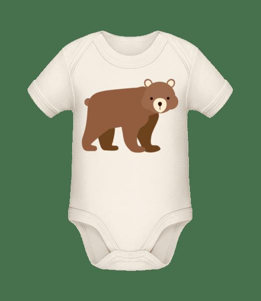 Baby Bear - Bio body pro děti - Krémová - Napřed
