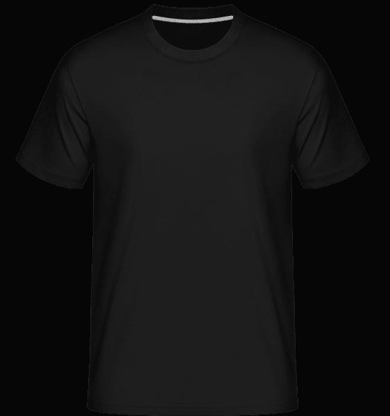 Shirtinator Männer T-Shirt - Schwarz - Vorn