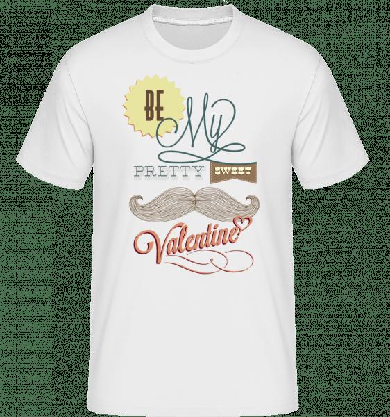 Be My Valentine -  Shirtinator tričko pre pánov - Biela - Predné