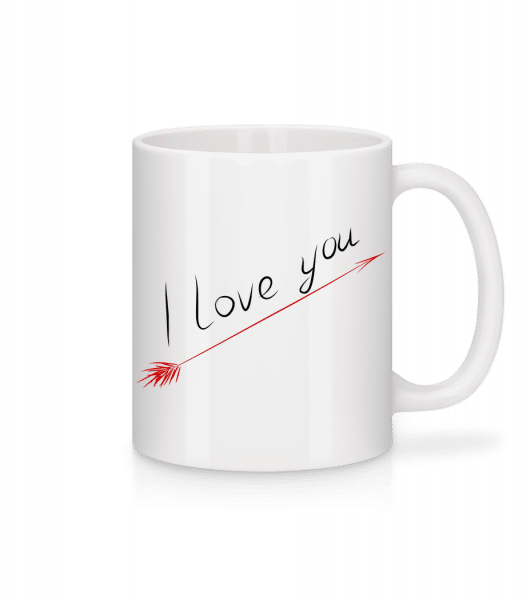 I Love You - Mug - White - Vorn