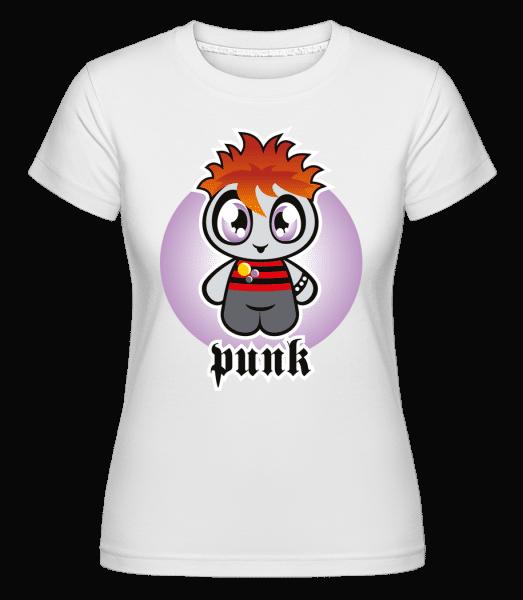 Punk -  Shirtinator Women's T-Shirt - White - Vorn