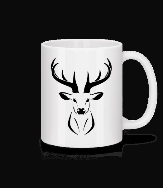 Deer - Mug - White - Front