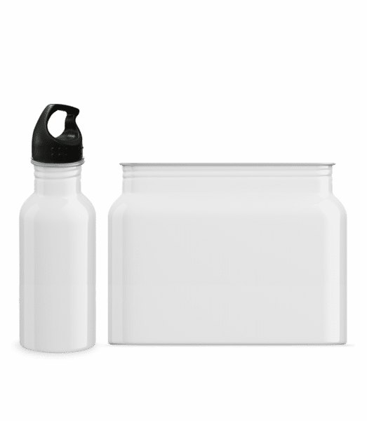Water bottle 600 ml - White - Vorn