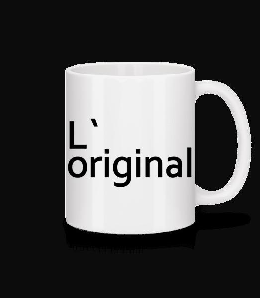 L`Original - Tasse - Weiß - Vorn