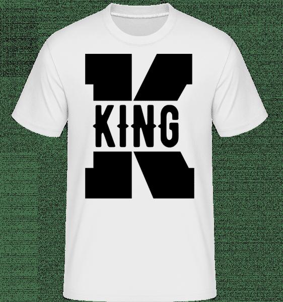 King K -  Shirtinator Men's T-Shirt - White - Vorn