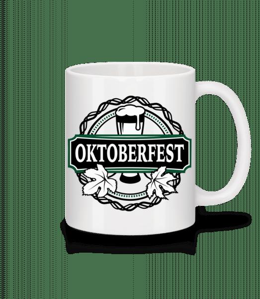 Oktoberfest - Mug - White - Vorn