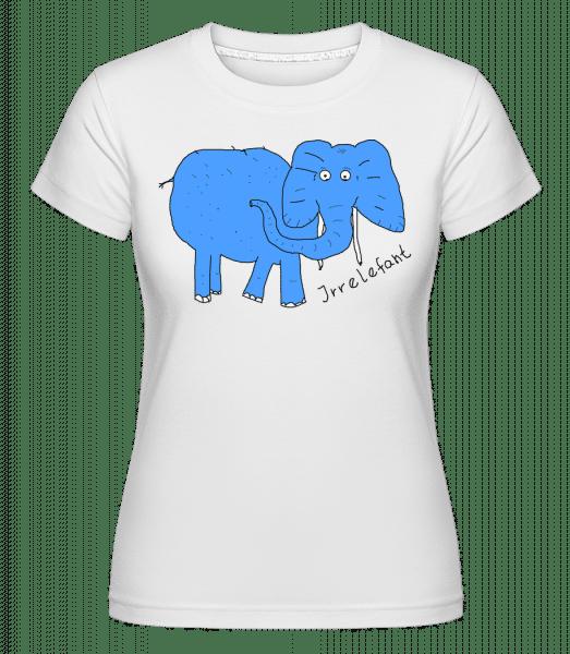 Irrelefant - Shirtinator Frauen T-Shirt - Weiß - Vorn