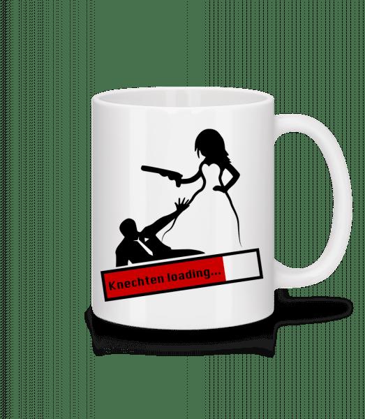 Knechten - Tasse - Weiß - Vorn