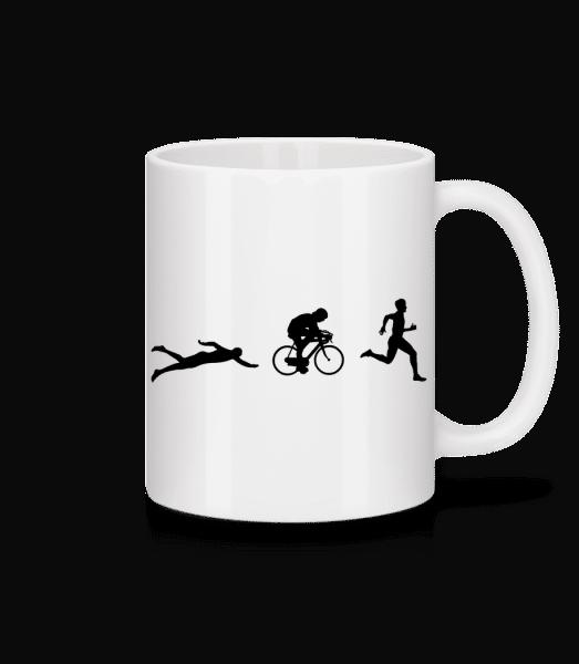 Triathlon - Mug - White - Vorn