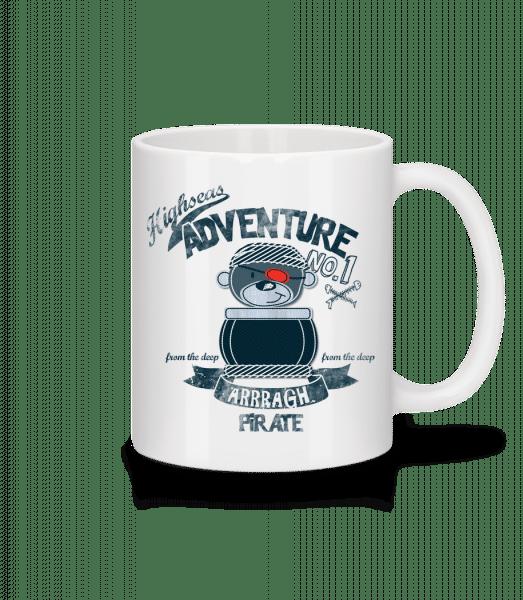 Pirate Teddy Adventure - Mug - White - Vorn