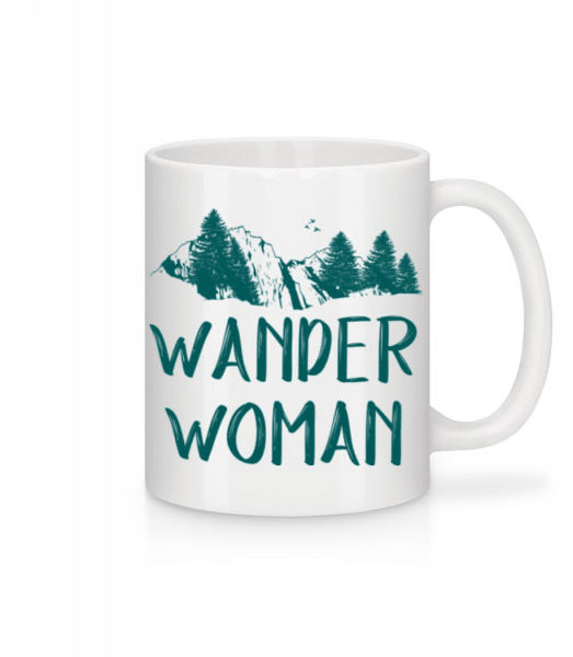 Wander Woman - Mug - White - Front