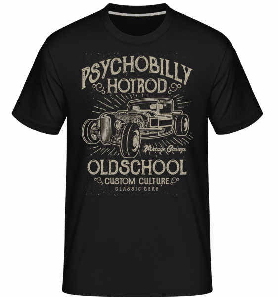 Psychobilly Hotrod -  Shirtinator Men's T-Shirt - Black - Vorn