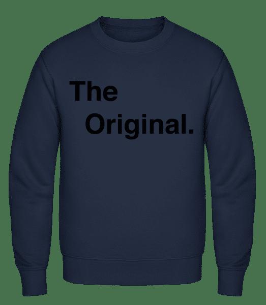 The Original - Classic Set-In Sweatshirt - Navy - Vorn