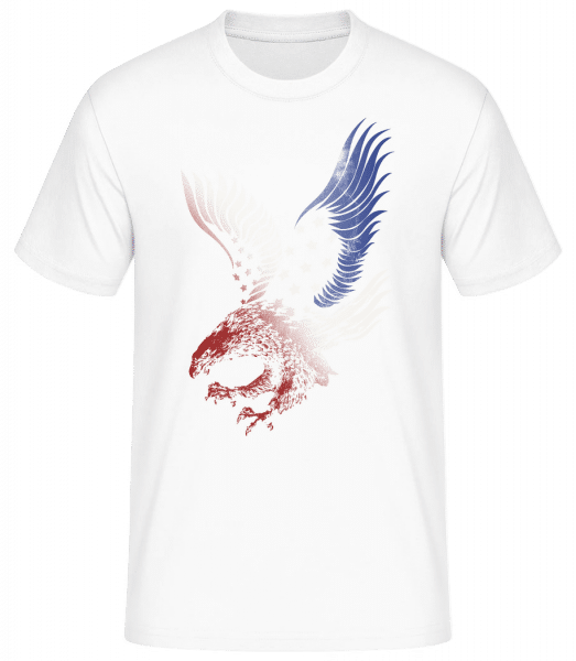 American Eagle - Men's Basic T-Shirt - White - Front
