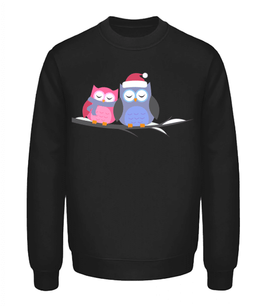 Christmas Owls - Unisex Sweatshirt - Black - Vorn
