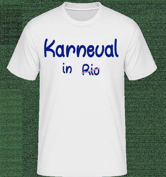 Karneval in Rio - Shirtinator Männer T-Shirt - Weiß - Vorn