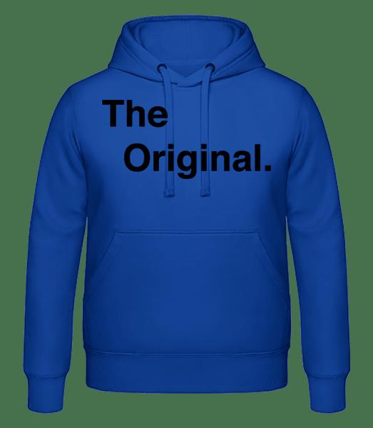 The Original - Men's hoodie - Royal blue - Vorn
