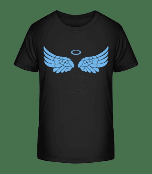Angel Equipment - Kid's Premium Bio T-Shirt - Black - Front