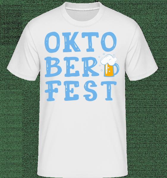 Oktoberfest -  Shirtinator Men's T-Shirt - White - Vorn