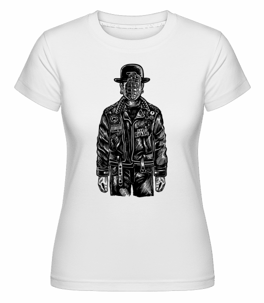 The Son Of Grenade -  Shirtinator Women's T-Shirt - White - Vorn