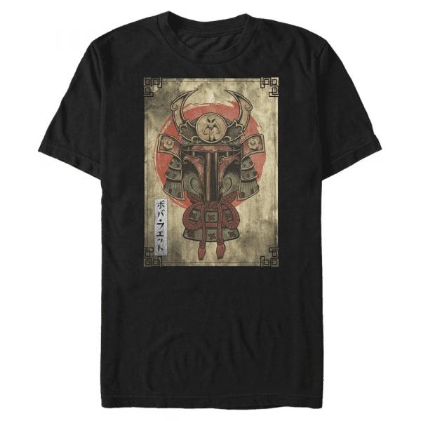 Daimyo Hunter - Star Wars - Men's T-Shirt - Black - Front